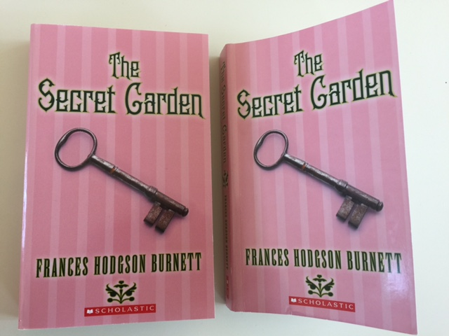 2 pink books