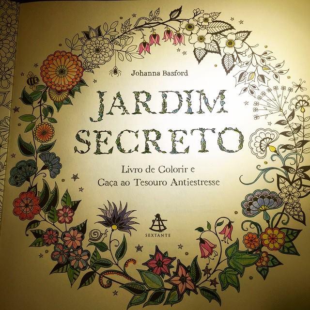 el jardim secreto by Johanna Basford