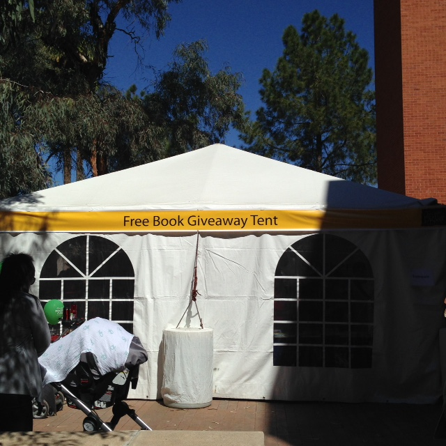 Free Book Giveaway Tent