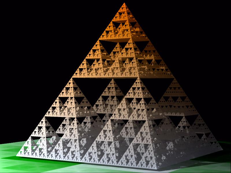 Sierpinski's pyramid