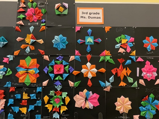Geometric shapes by 3rd Graders