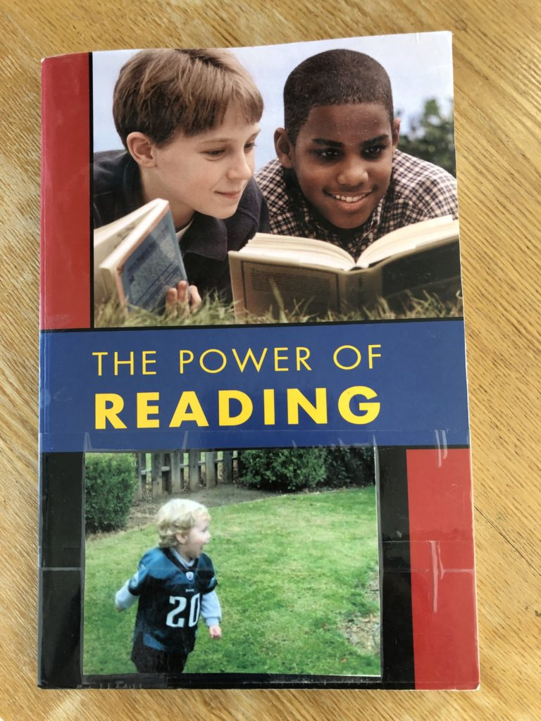 Book:  The Power of Reading