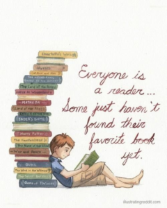Everyone is a reader